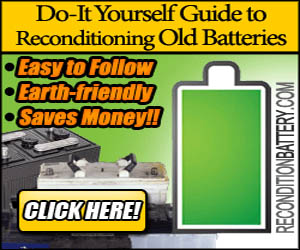 How to Recondition Battery